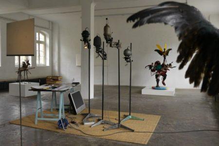 Ausstellung Thomas Bartels, 2015. Foto: Allgemeiner Konsumverein/Thomas Bartels