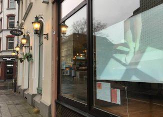 Blick ins Makery-Fenster (Kuhstraße 5). Foto: Donaji Martinez Garcia