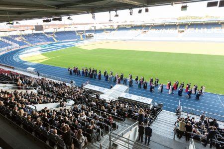 Abi-Ball im Stadion. Foto: Stadthallen GmbH