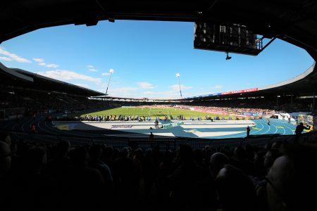 Das Stadion bietet eine großartige Kulisse für Spiele der Eintracht. Foto: Stadthallen GmbH /Polytan