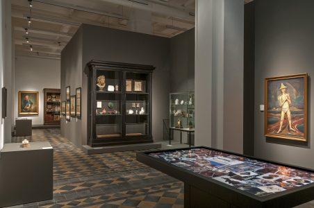 Der Raum der Geschichte im Erdgeschoss. Foto: Herzog Anton Ulrich-Museum
