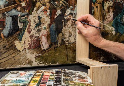 Zu den Aufgaben gehört auch die Rekonstruktion von Kunstgegenständen. Foto: Herzog Anton Ulrich-Museum