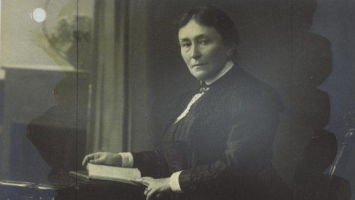 Elisabeth Gnauck-Kühne war eine der führenden Frauenrechtlerinnen im 19. Jahrhundert. Repro: IBR