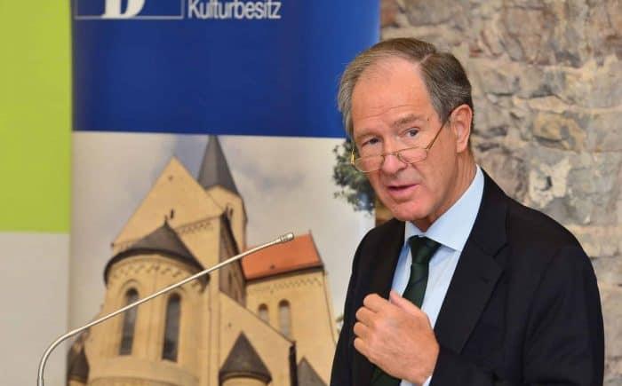 Dr. Gert Hoffmann als Präsident der Stiftung Braunschweigischer Kulturbesitz. Foto SBK