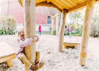 Zu den jüngsten Förderungen zählt der neue Spielbereich im Waldorfkindergarten Am Giersberg in Braunschweig. Foto: Erich Mundstock Stiftung