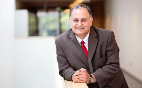 Prof. Reza Asghari leitet das Entrepreneurship Hub. Foto: Entrepreneurship Hub/Jörg Scheibe