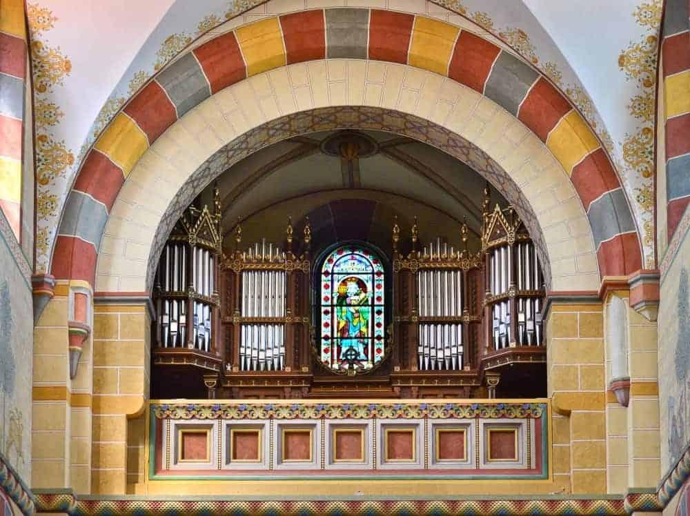 Das Mittelschiff mit Blick auf die Furtwängler-Orgel. Foto: SBK / Andreas Greiner-Napp