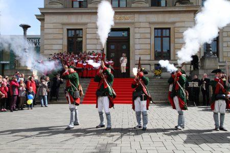 Vor zehn Jahren wurde das Schlossmuseum feierlich eröffnet. Foto: Schlossmuseum/Gisela Rothe