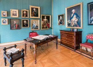 Das Arbeitszimmer von Herzog Wilhelm im Schlossmuseum. Foto: Schlossmuseum/Küstner