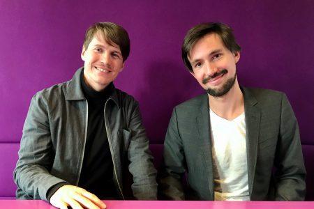 Felix Friedrich und Dario Nassal gründeten Buzzard. Foto: Buzzard