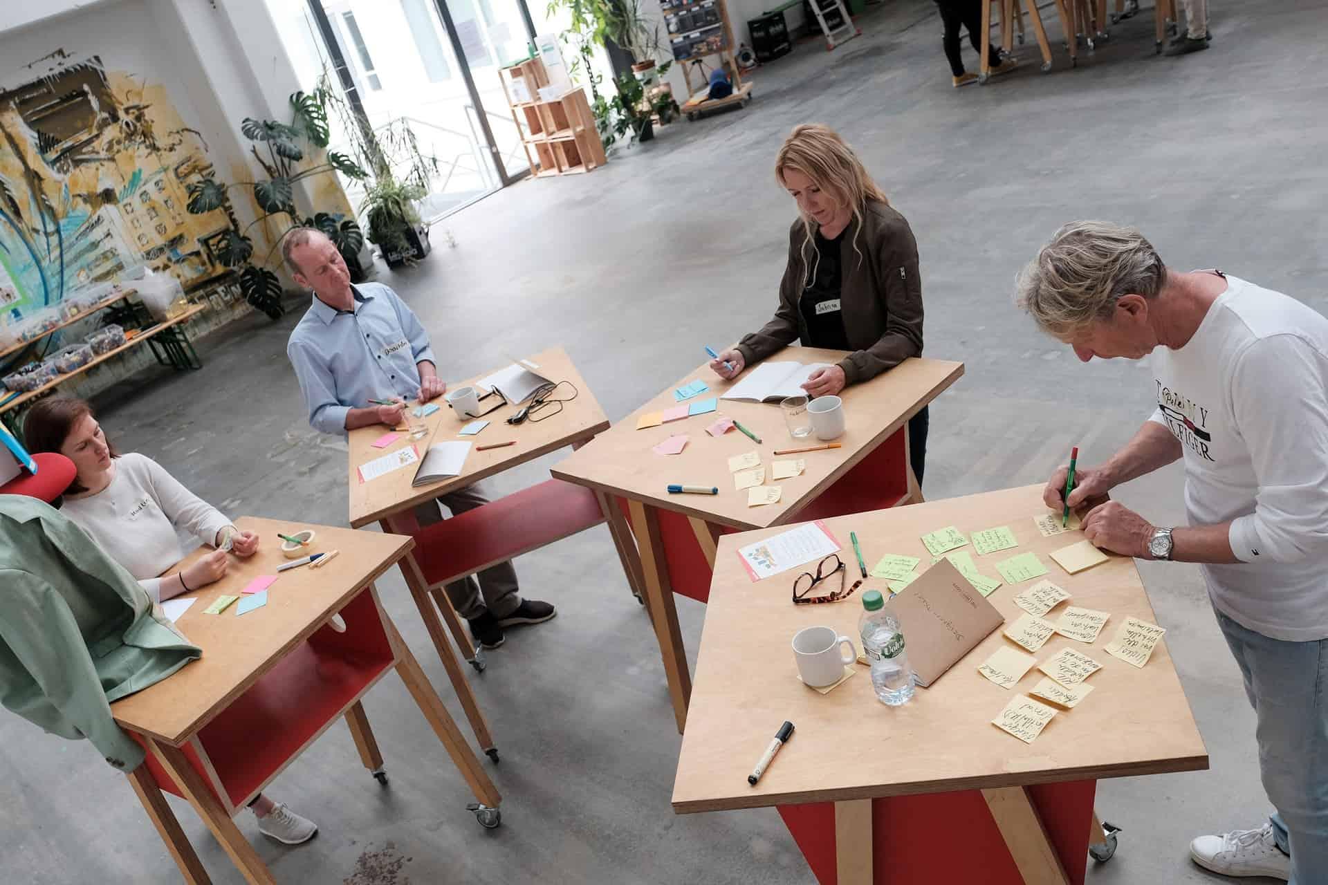 Der DenkRaum bietet sehr gute Bedingungen für Workshops. Foto: DenkRaum