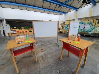 Viel Platz für kreative Ideen im umgebauten, ehemaligen Gebäude der Oeding Druckerei. Foto: DenkRaum