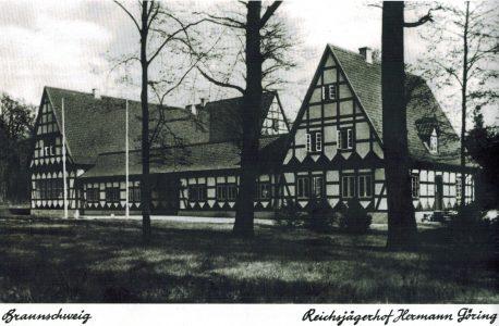 Ansichtskarte vom Jägerhof in der Buchhorst aus dem Jahr 1938. Der Foto: Archiv Wetterau