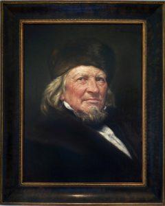 Der alte Hoffmann von Fallersleben. Foto: Hoffmann-von-Fallersleben-Museum im M2K, Stadt Wolfsburg