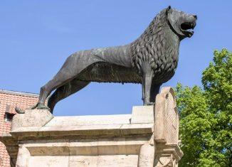 Der Braunschweiger Löwe. Foto: Stadtmarketing