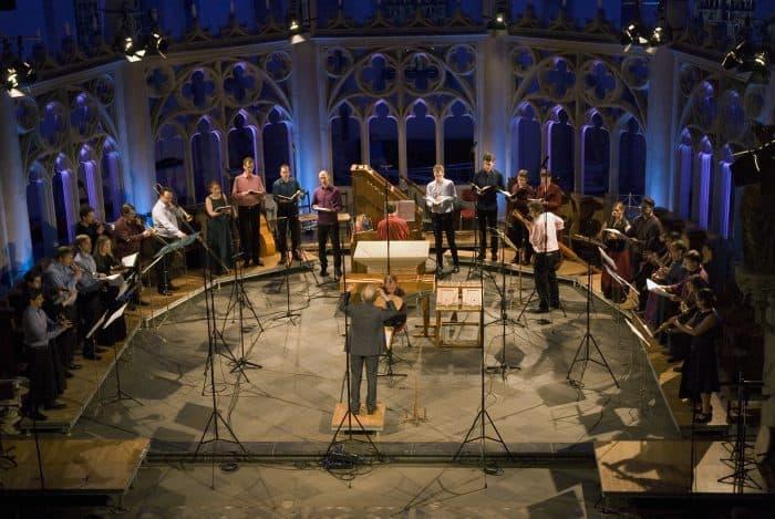 Das Ensemble Musica Fiata und La Capella Ducale unter Leitung von Roland Wilson spielt am 31. Oktober in Wolfenbüttel. Foto: Eberhard Zummach