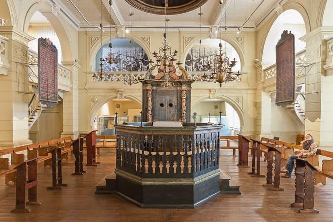 Inneneinrichtung der Hornburger Synagoge. Foto: Braunschweigisches Landesmuseum/Marek Kruszewski