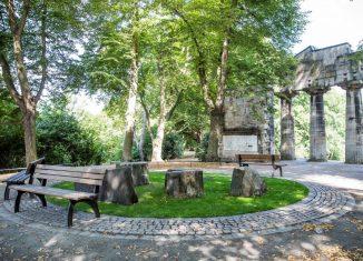 Ein gelungenes Beispiel aus der vierten Vereinbarung: das Rondell vor dem Portikus im Bürgerpark. Foto: Stadt Braunschweig/Daniela Nielsen