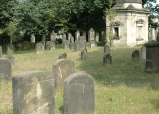 Blick auf den Jüdischen Friedhof in Braunschweig. Foto: Israel Jacobson Netzwerk