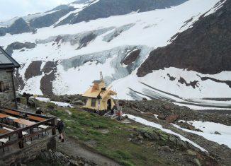 Die Marienkappelle unweit der Braunschweiger Hütte in den Ötztaler Alpen. Foto: Armin Rogge
