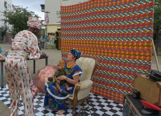 Die Arbeiten der Fotokünstlerin Fatoumata Diabaté vom Frankfurter Platz werden vom 11. Bis 25. November im Kunstverein gezeihgt. Foto: Karl Heinrich Weghorn