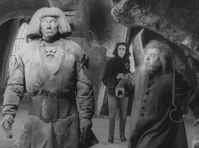 """Szene aus """"Der Golem, wie er in die Welt kam"""". Foto: Filmmuseum München"""