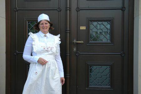 Das herzogliche Kindermädchen führt zweimal durch das Schlossmuseum. Foto: Schlossmuseum Braunschweig