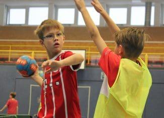 MTV will Kinder für den Handballsport begeistern. Foto: MTV Handball